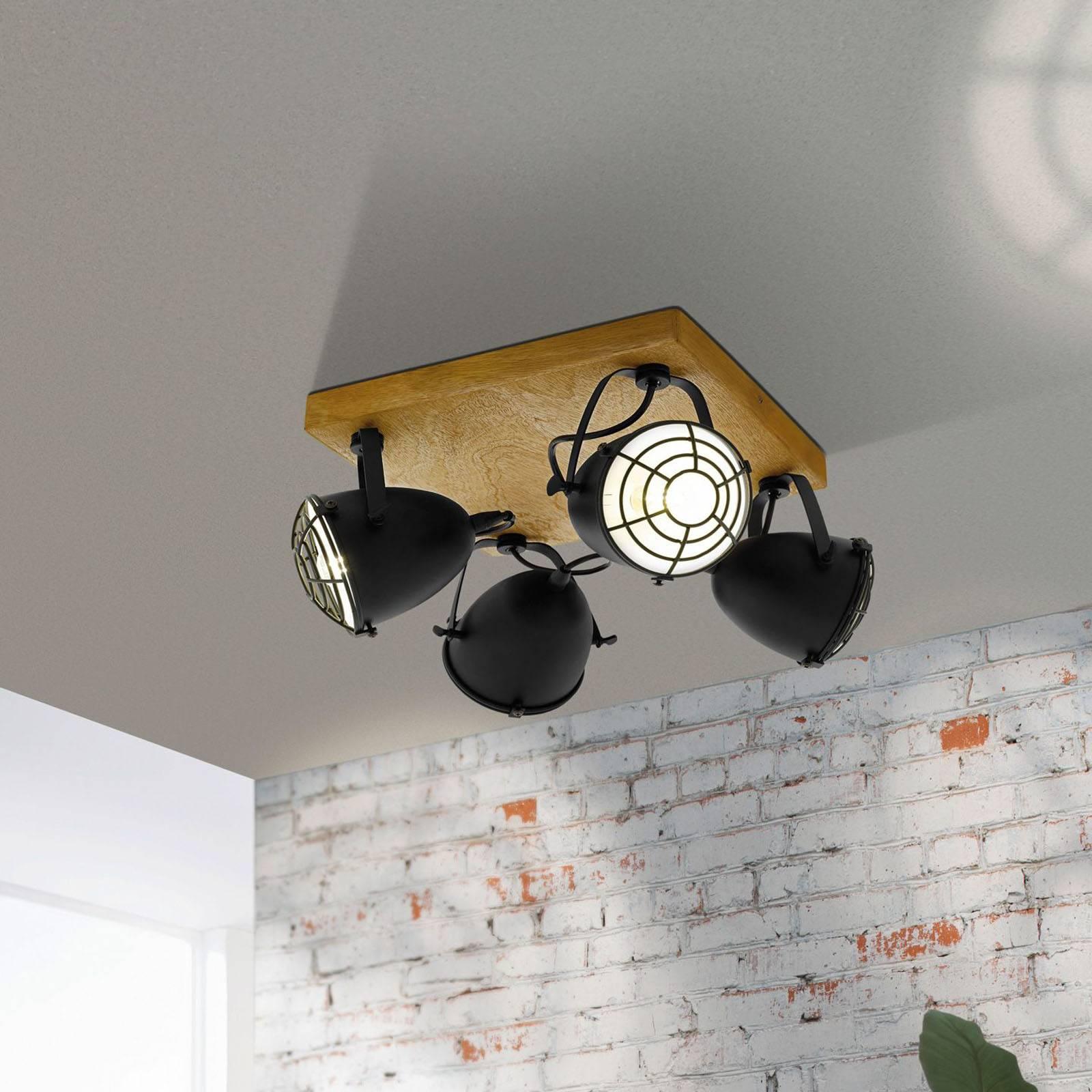 Kattokohdevalo Gatebeck, 4-lamppuinen