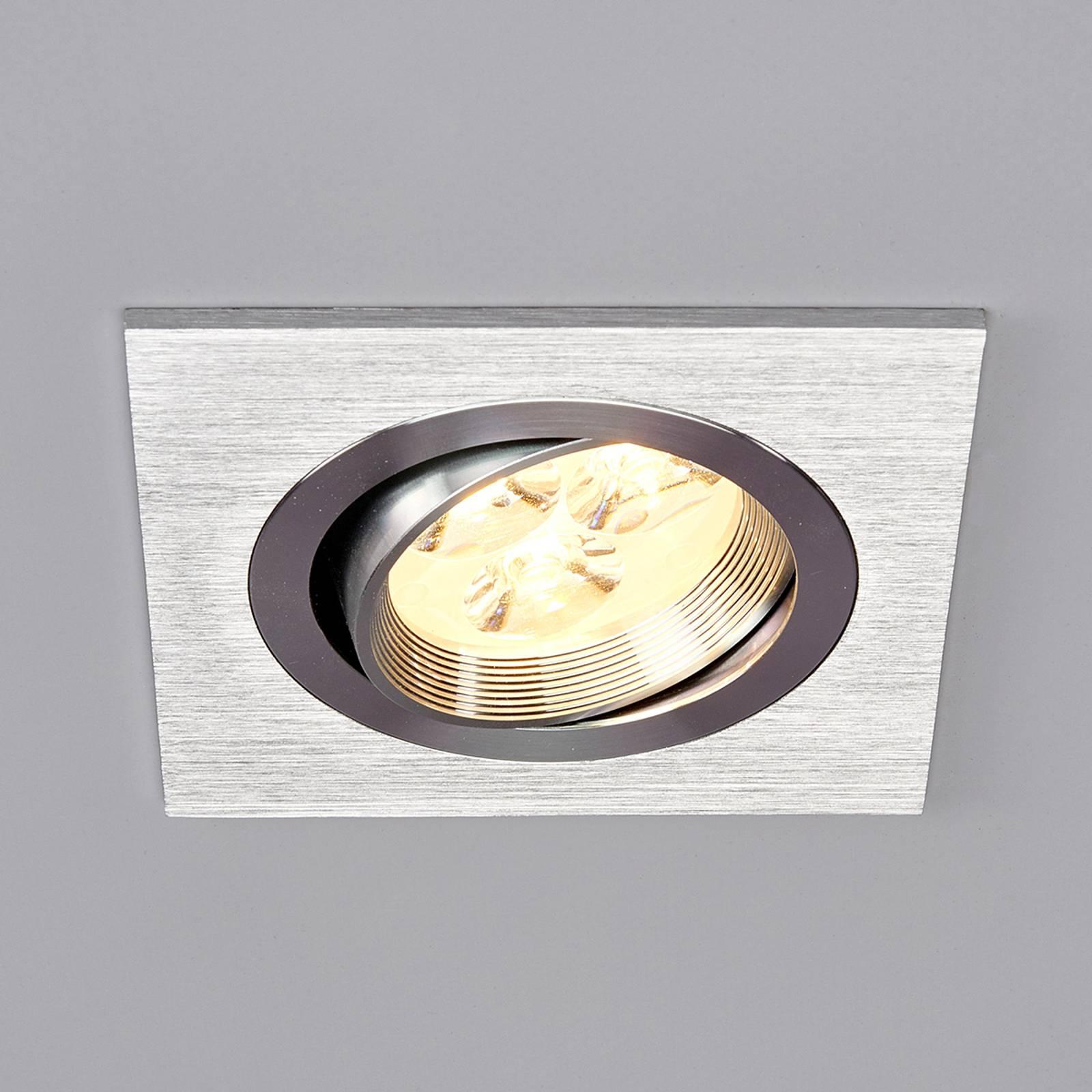 Tjark - kulmikas-LED-uppovalaisin alumiinista