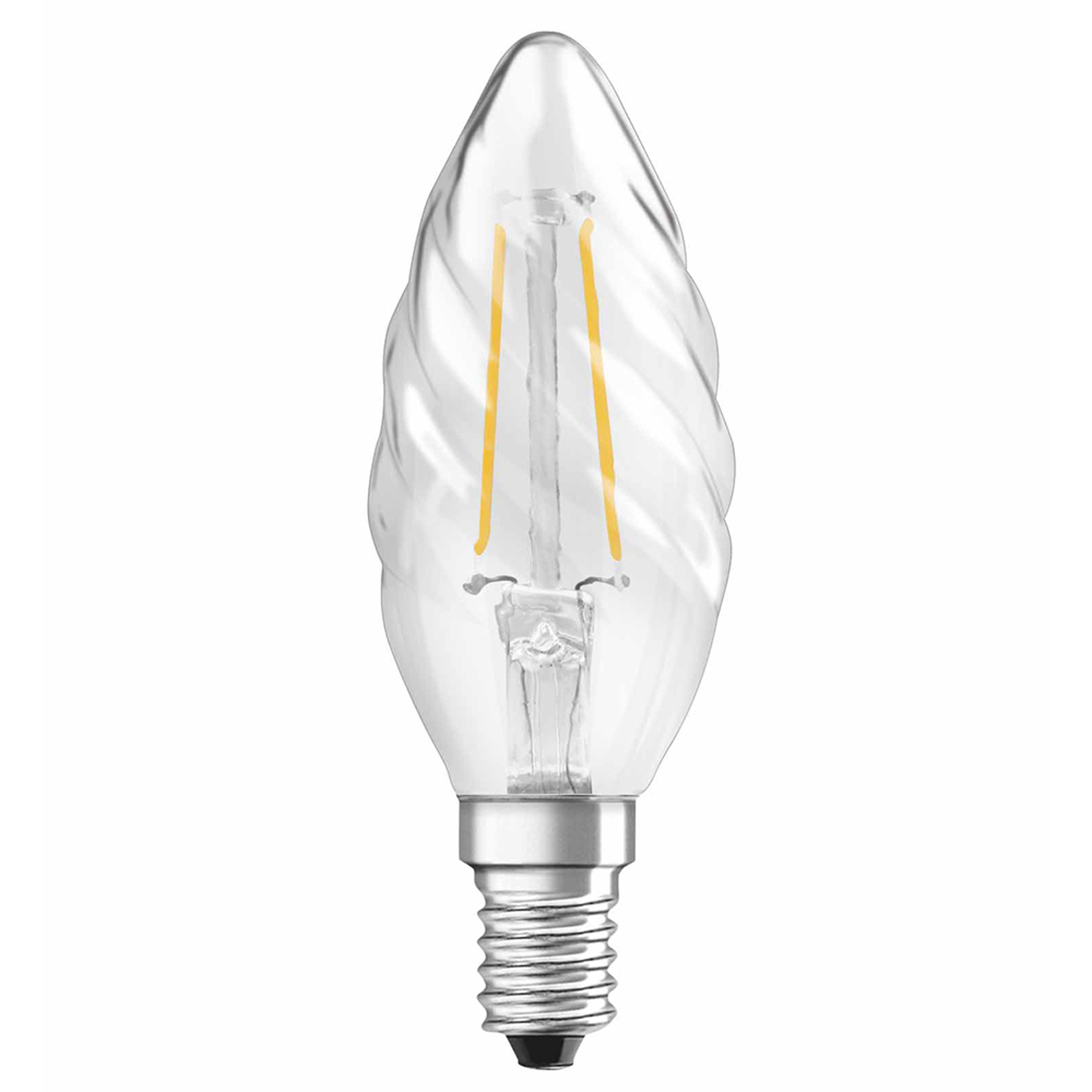 OSRAM-LED-kynttilälamppu E14 2,5W 827 kierretty