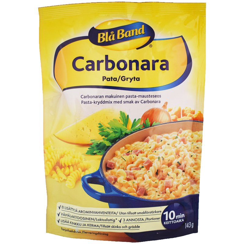 Carbonara Pata 143g - 46% alennus