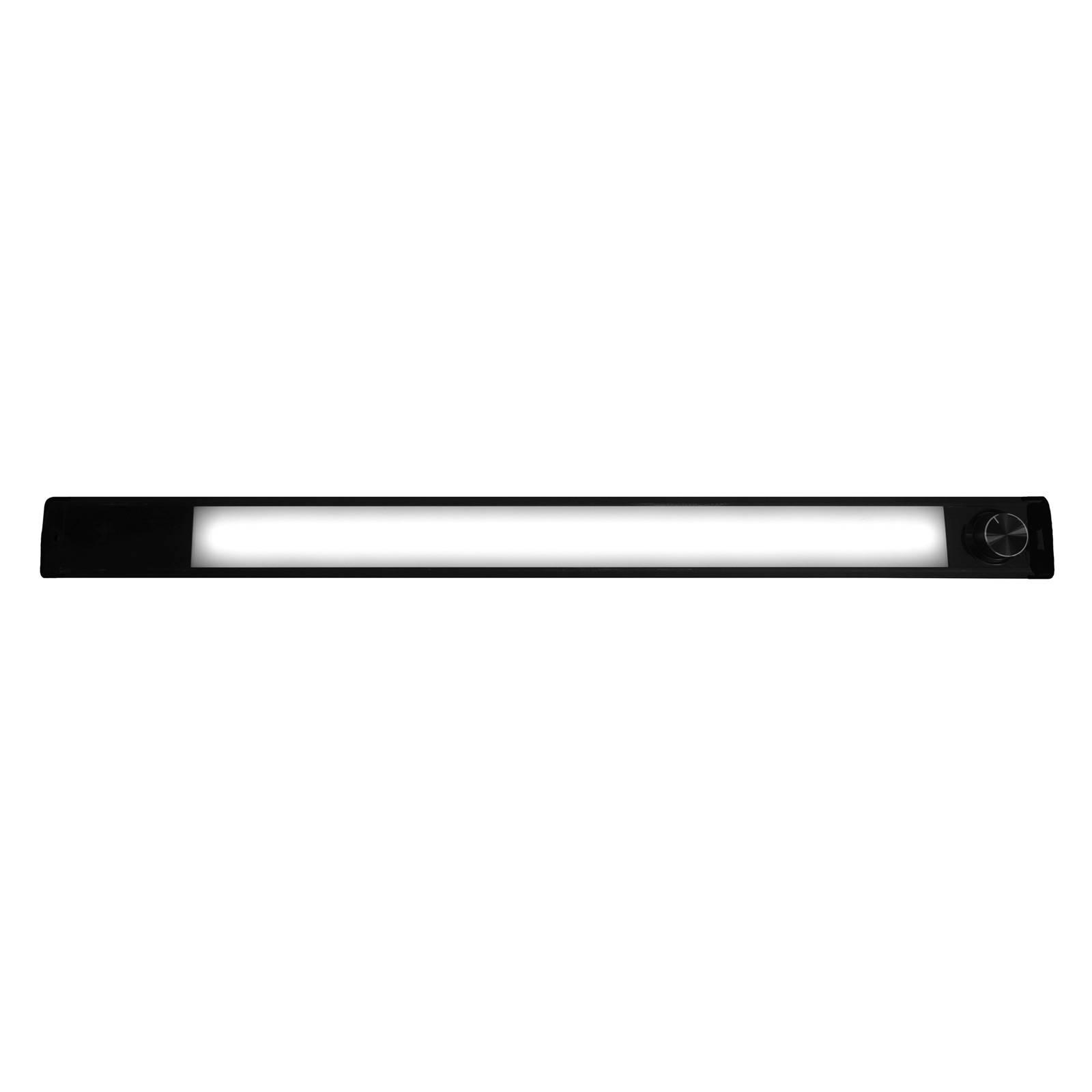 LED-kaapinalusvalaisin Calina 60 Switch Tone musta