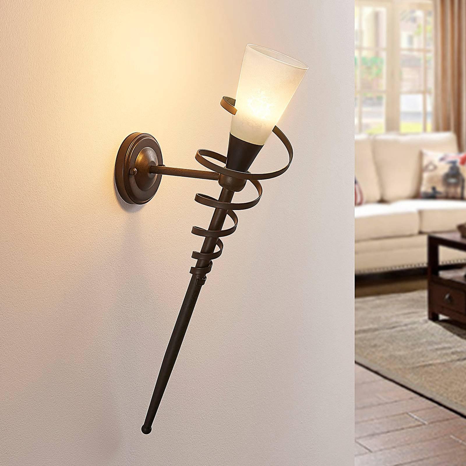 LED-veggfakkel Tjark