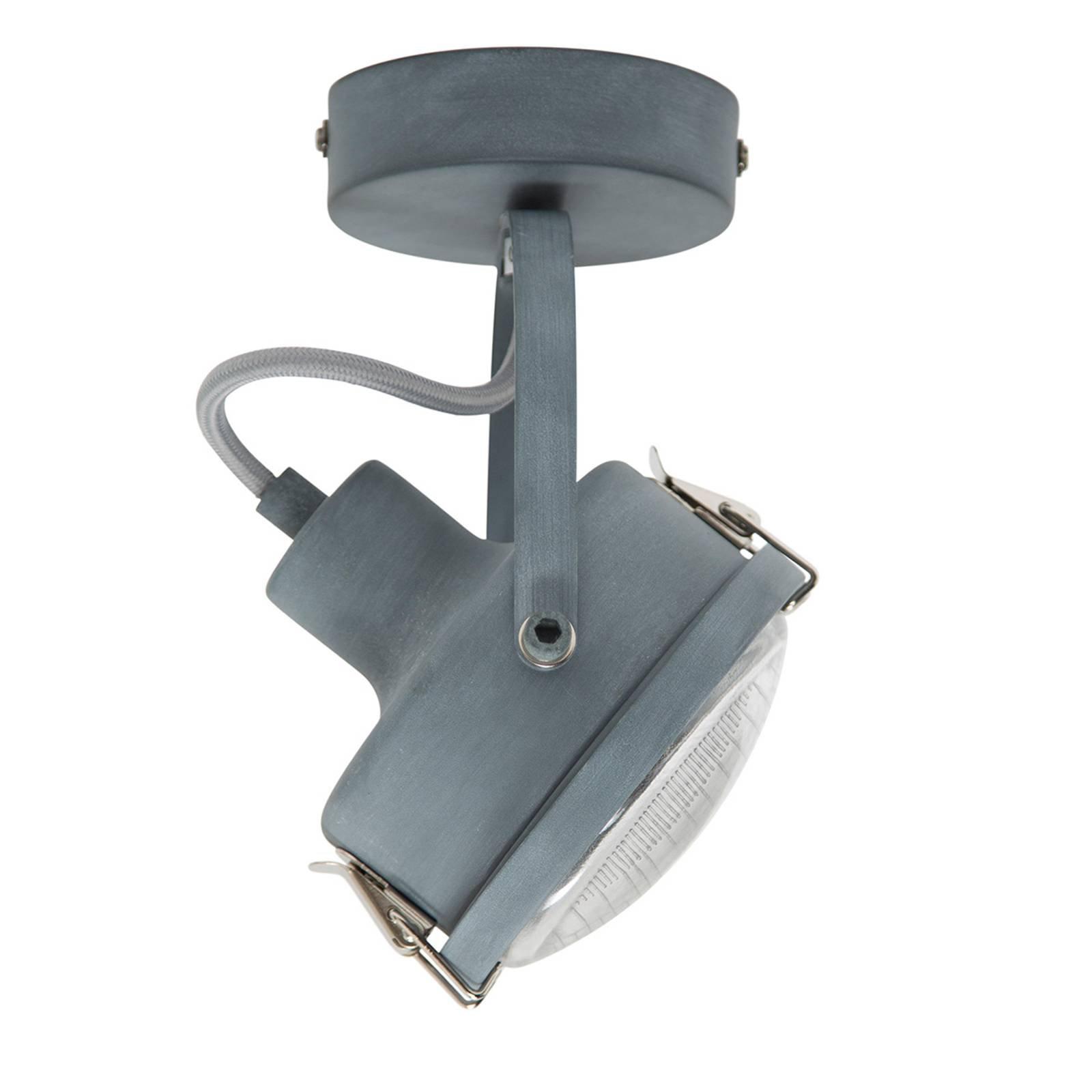 Dreibar taklampe Satellite, grå