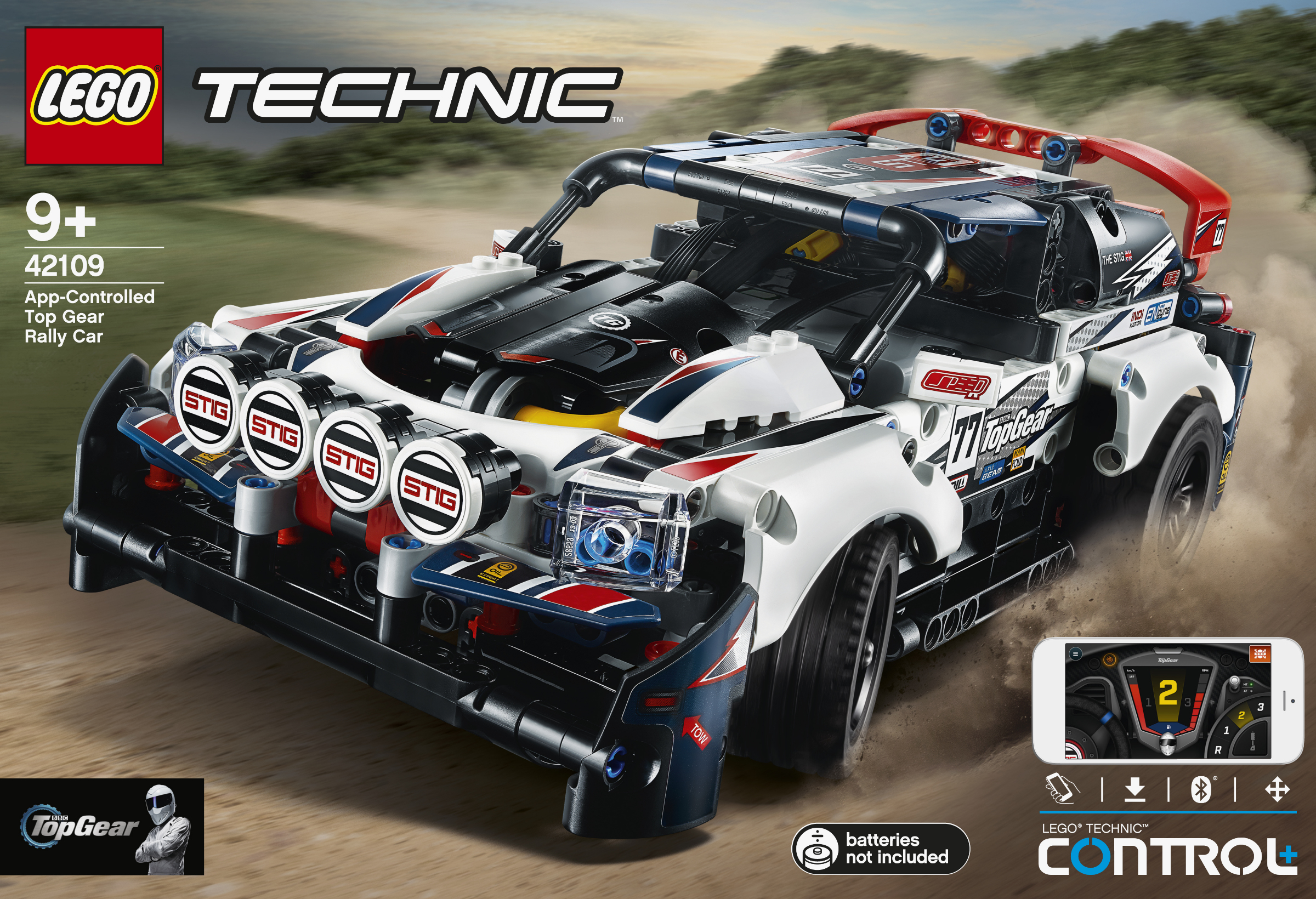 LEGO Technic - App Control Top Gear Ralley Car (42109)