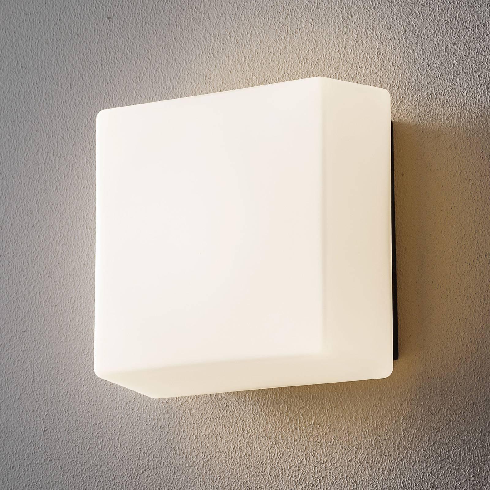 BEGA lysbyggestein 38300 LED-vegglampe 21x21cm