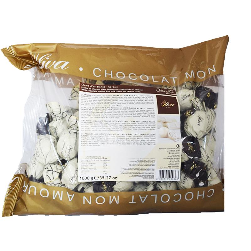 Chokladpraliner Vit Choklad 1kg - 58% rabatt