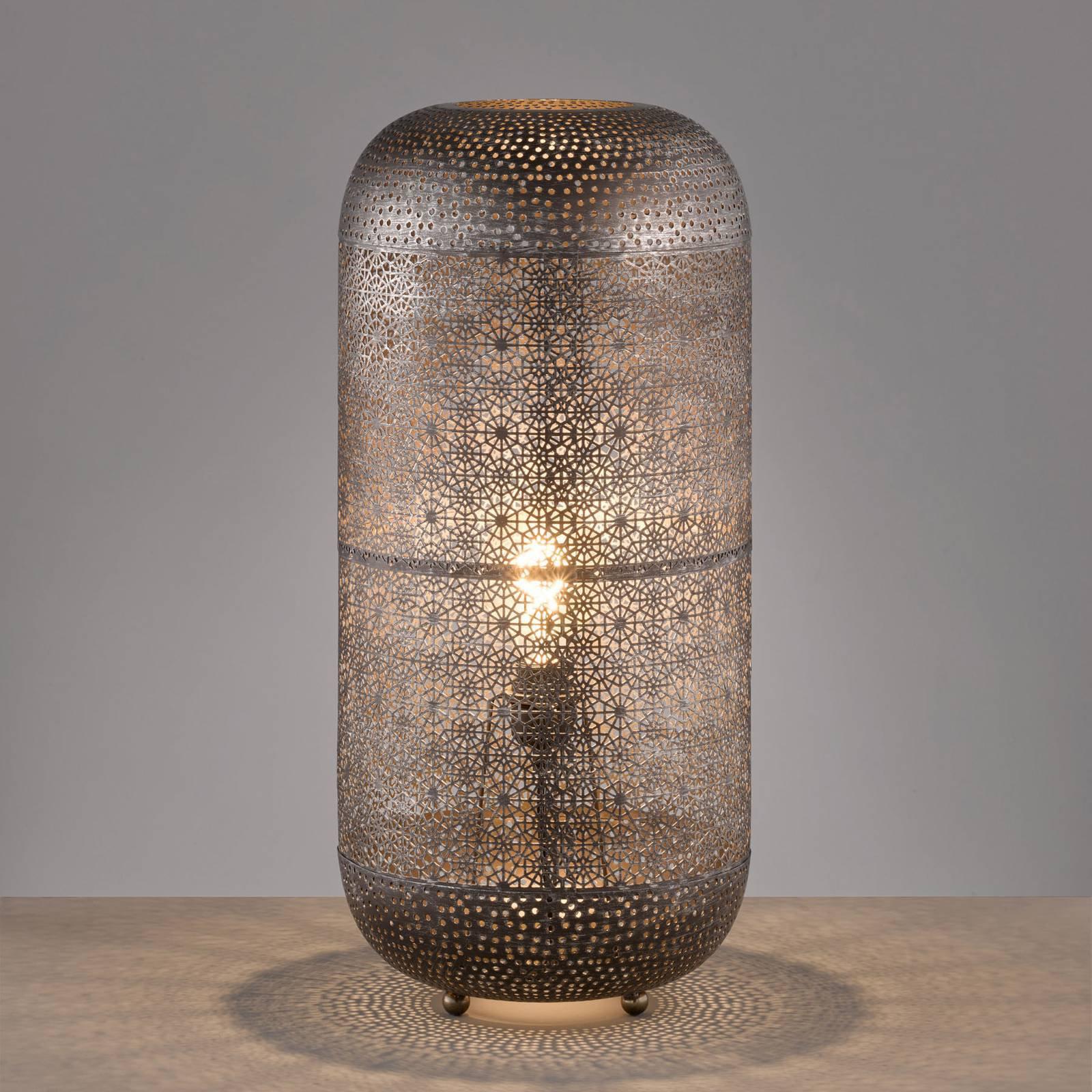 Bordlampe Velvet, høyde 64 cm, Ø 30 cm