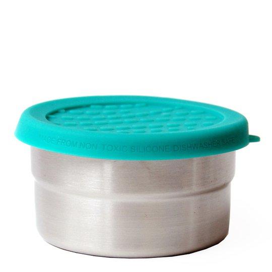 ECOlunchbox - Eco Cup Solo Snacksburk liten 9 cm Turkos
