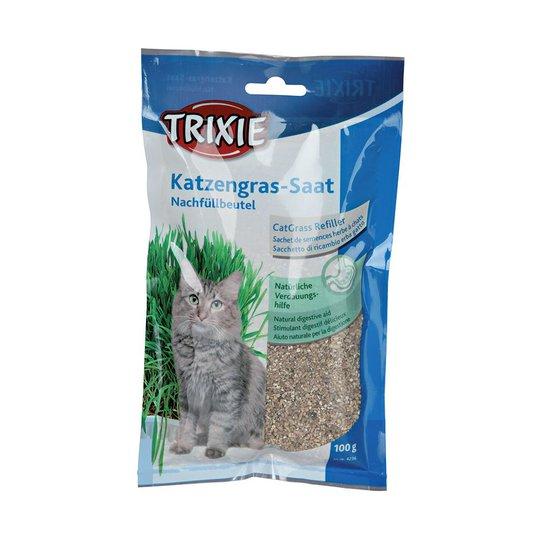 Trixie Kattgräs Refillpåse 100 g (100 gram)