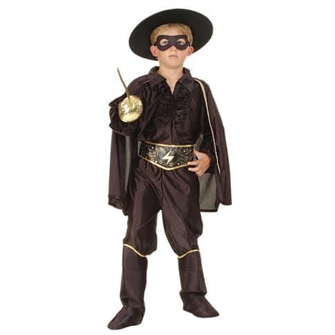 Zorrodräkt barn 122-134