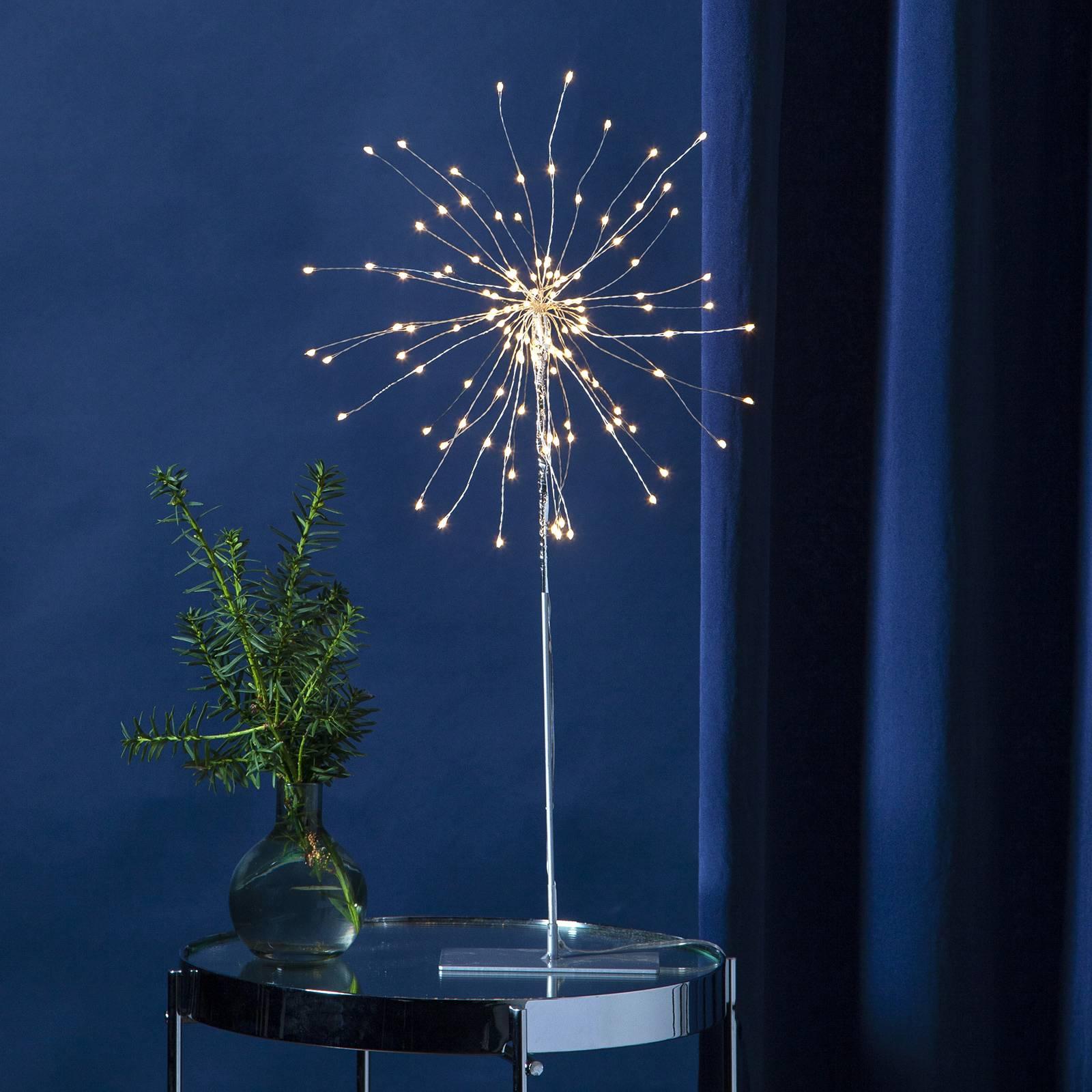 LED-koristevalaisin Firework 3D, korkeus 50 cm