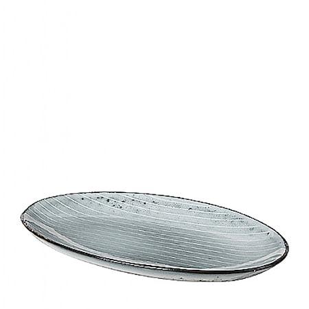 Fat Oval Small Nordic Sea Stengods