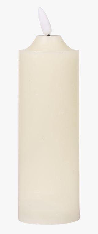 Block thin led-pöytäkynttilä valkoinen