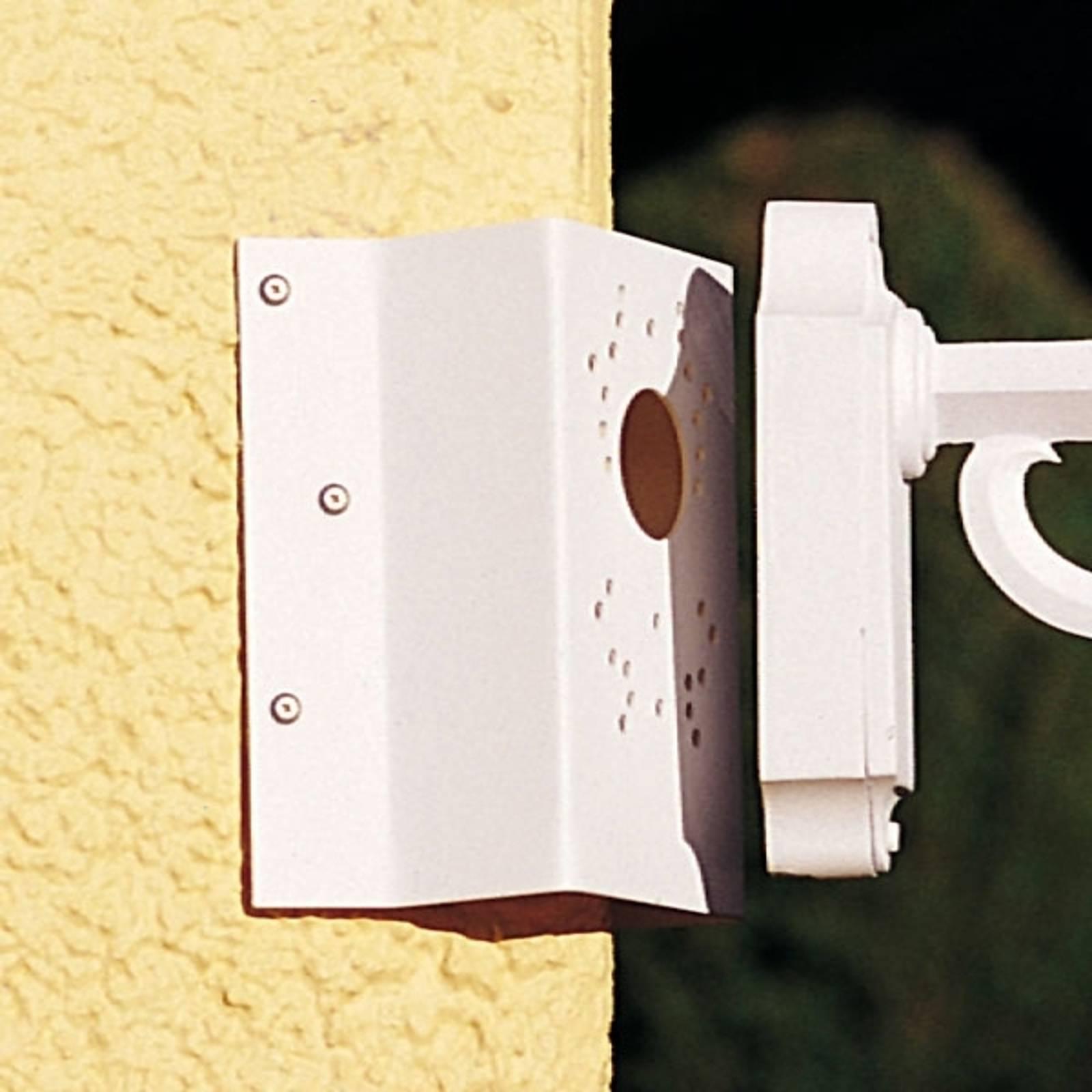 Kulmakiinnike seinävalaisimille, valkoinen