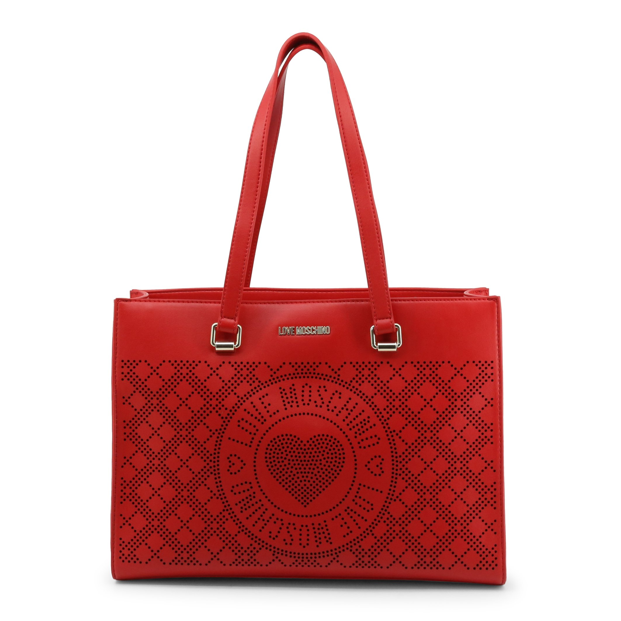 Love Moschino Women's Shoulder Bag Various Colours JC4211PP0CKB1 - red NOSIZE