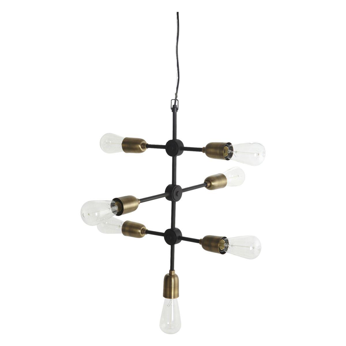 Lampa, Molecular, Svart/Mässing House Doctor