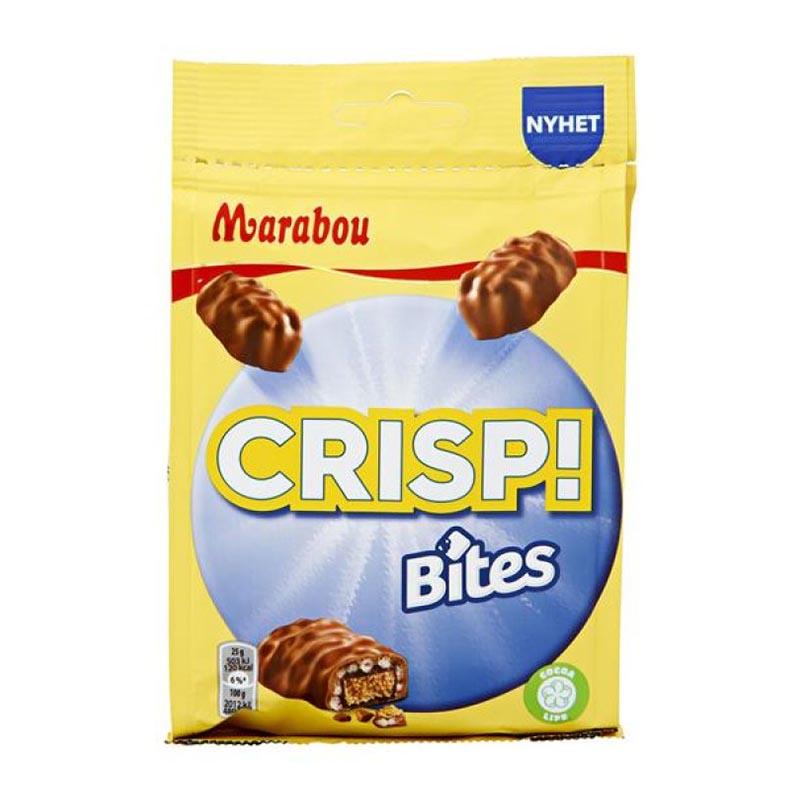 Marabou Crisp Bites - 140 g