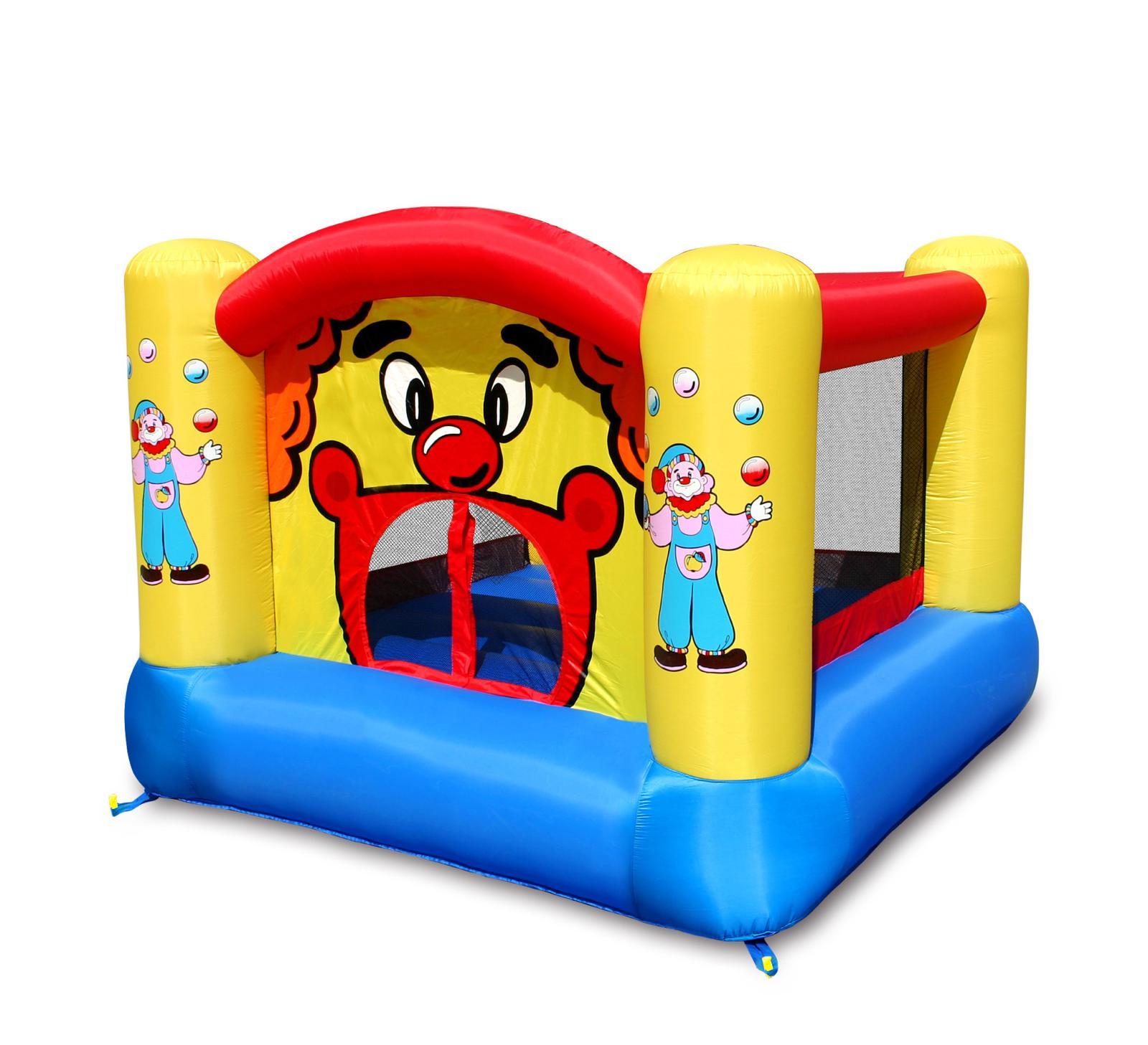 Happy Hop - Bouncy Castle - Clown Bouncer (9001)