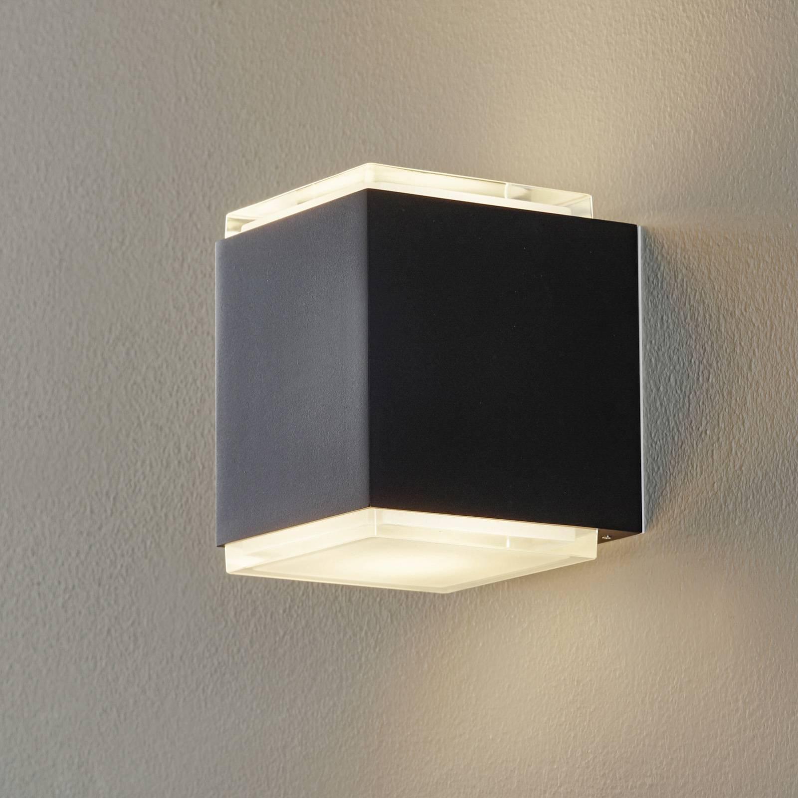 BEGA 50064 LED-vegglampe 3 000 K 12 cm DALI svart