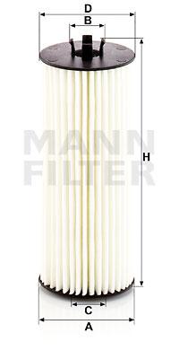 Öljynsuodatin MANN-FILTER HU 6008/1 z