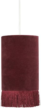 Alexis Fönsterlampa Vinröd 15cm