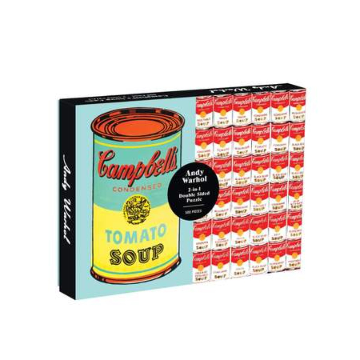 Andy Warhol I Soup Can 2-sided 500 Piece Puzzle