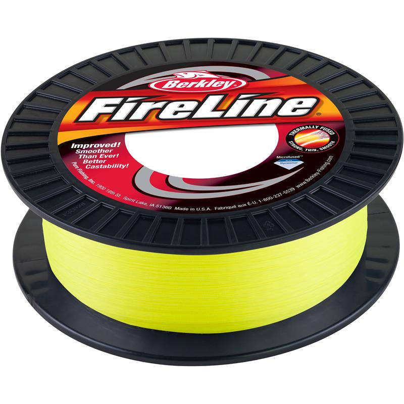 Berkley Fireline Green 600m 0,25mm Verdens mest kjente og brukte superline!