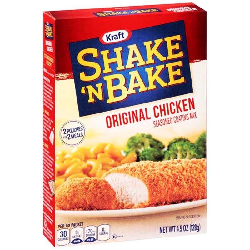 "Kryddmix ""Shake n Bake Chicken"" 128g - 40% rabatt"
