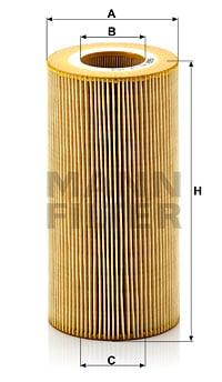Öljynsuodatin MANN-FILTER HU 12 103 x
