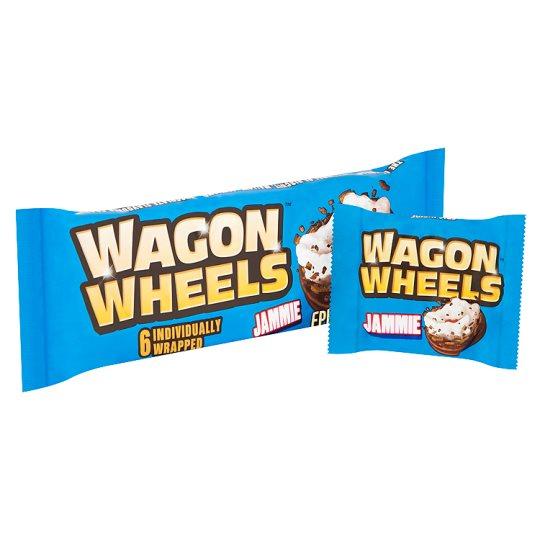 Burtons Wagon Wheels 6 Jammie 229g