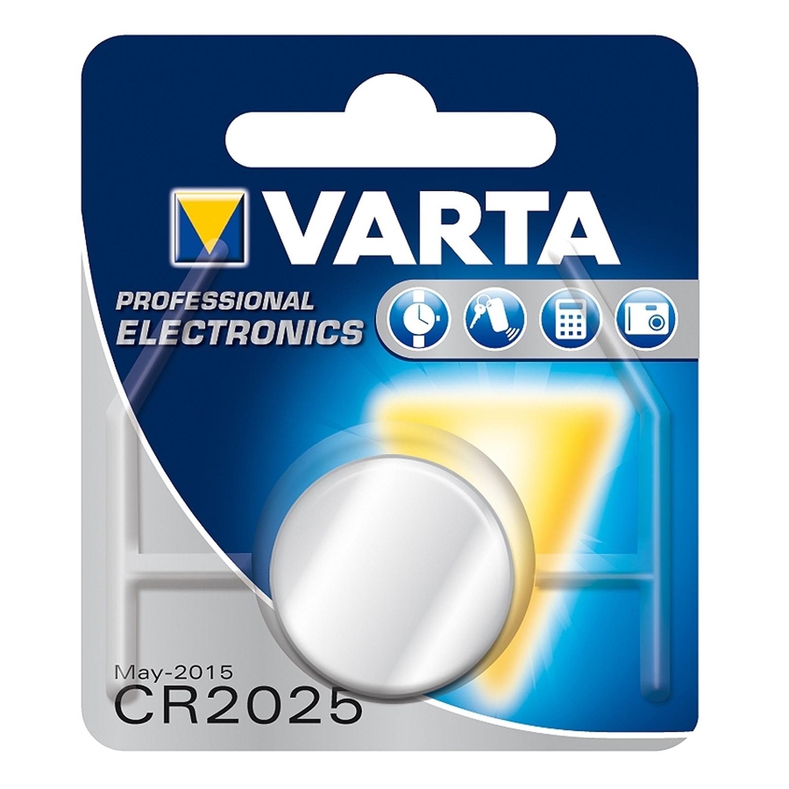 CR2025 3 V 165 mAh litiumnappiparisto