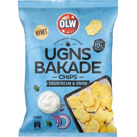 Chips Gräddfil & Gräslök 150g - 28% rabatt