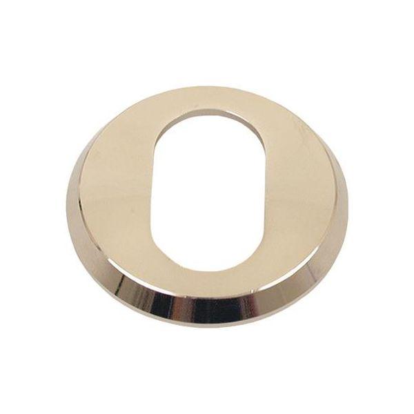 ASSA 412700110002 Sylinderring til oval sylinder, 6 mm Forniklet