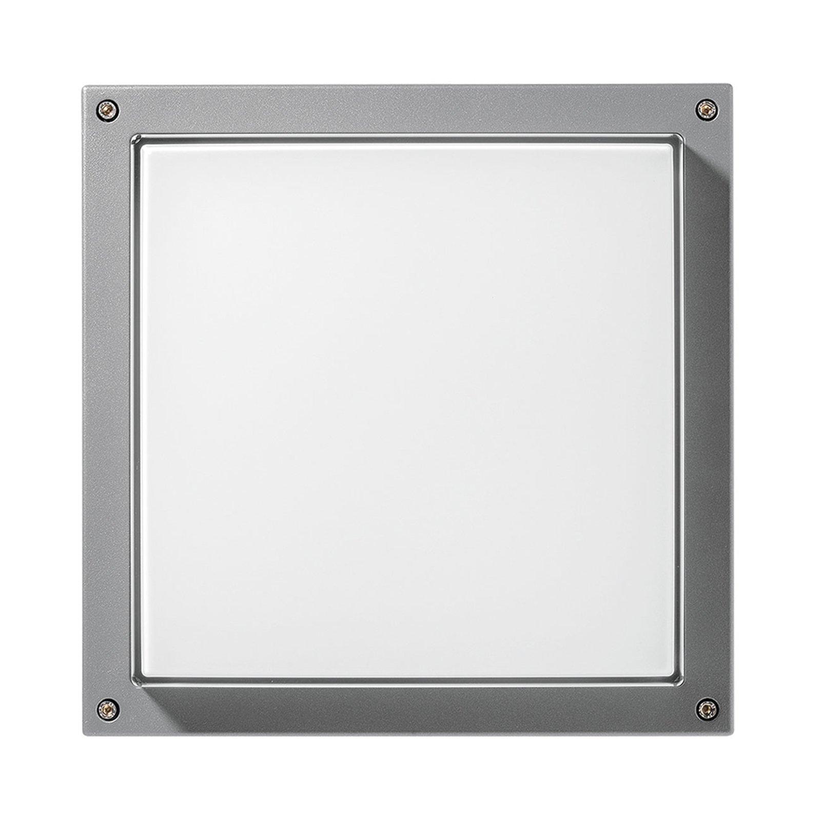 Vegglampe Bliz Square 40 3 000 K, grå dimbar
