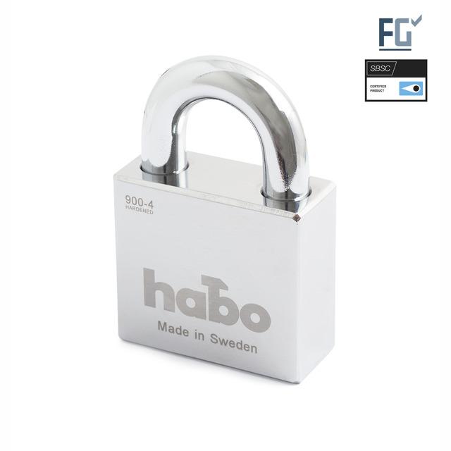 HÄNGLÅS HABO 900-4 KLASS4 SB
