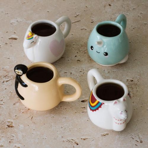Animal Espresso Mug Set(MINESPMUGS)