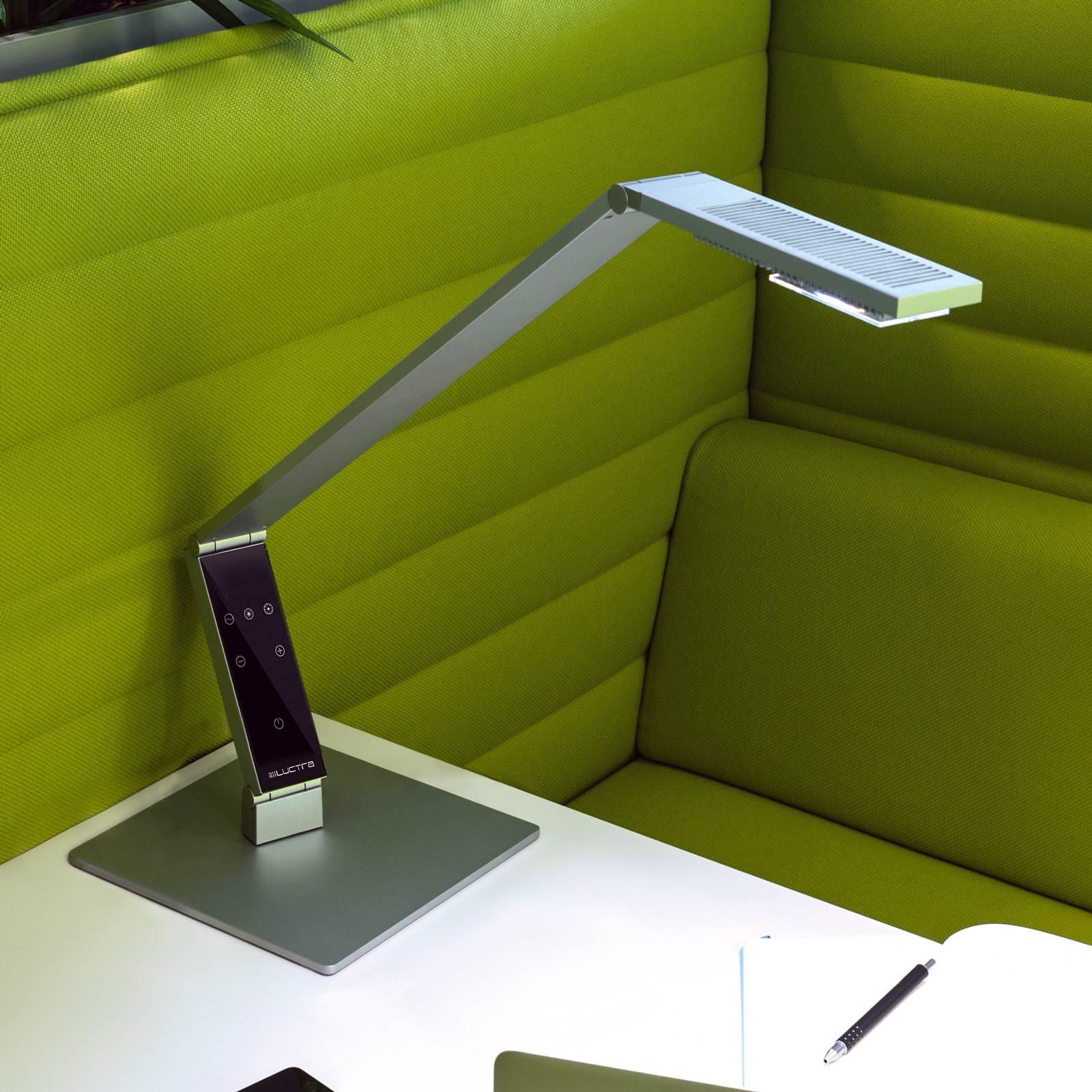 Luctra Table Linear LED-pöytälamppu jalka alumiini