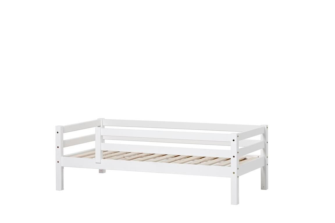 Hoppekids - BASIC Bed With Safety Rail 70x160 cm - White