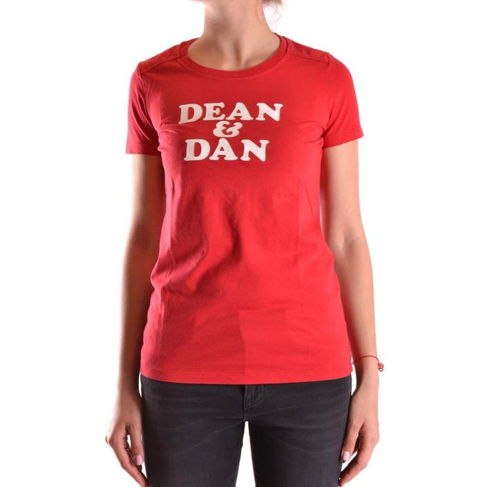 Dsquared Women's T-Shirt Red 188817 - red L
