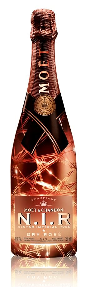 Moët & Chandon N.I.R Nectar Imperial Rose Dry Champagne 75cl
