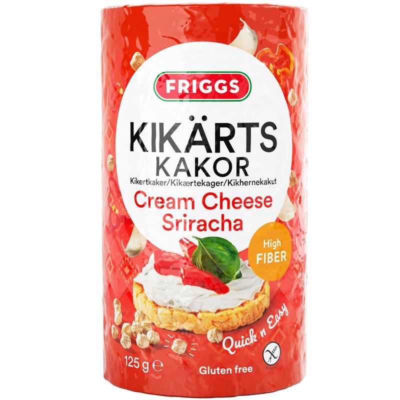 Kikhernekakut Cream Cheese & Sriracha - 45% alennus