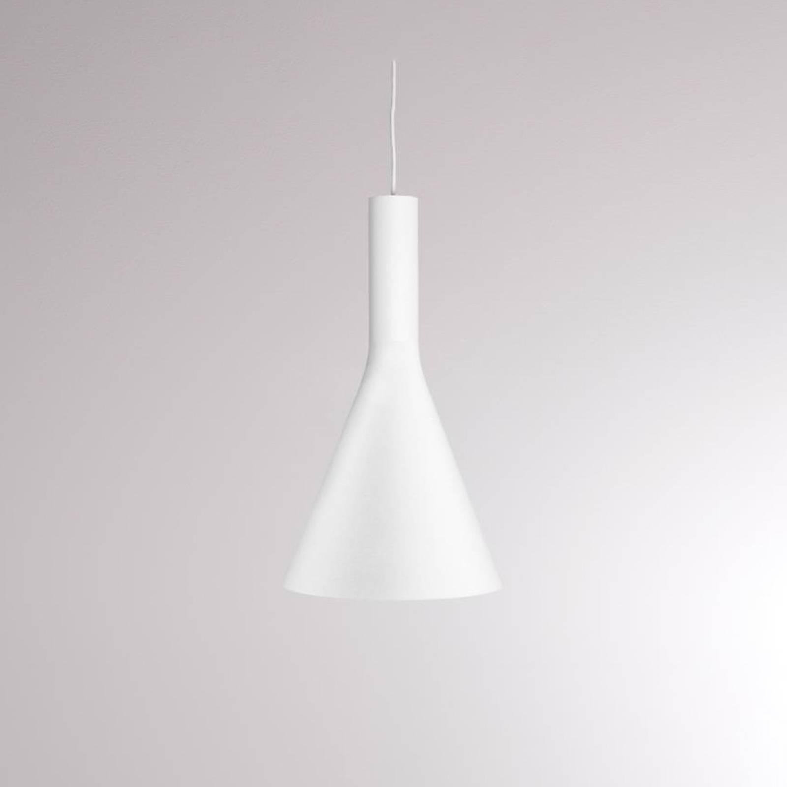LOUM Lora Shade 1 -LED-riippuvalaisin valkoinen
