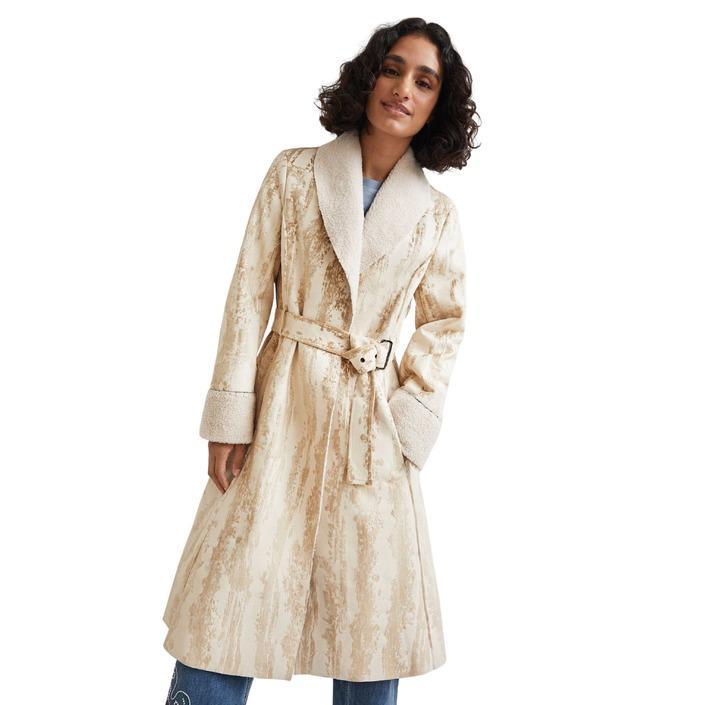 Desigual - Desigual Women Coat - beige S