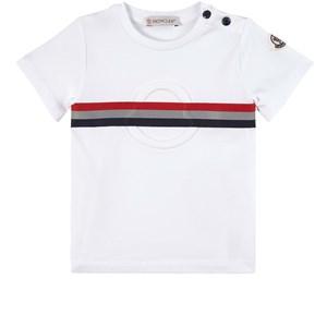 Moncler Maglia T-shirt Vit 6-9 mån