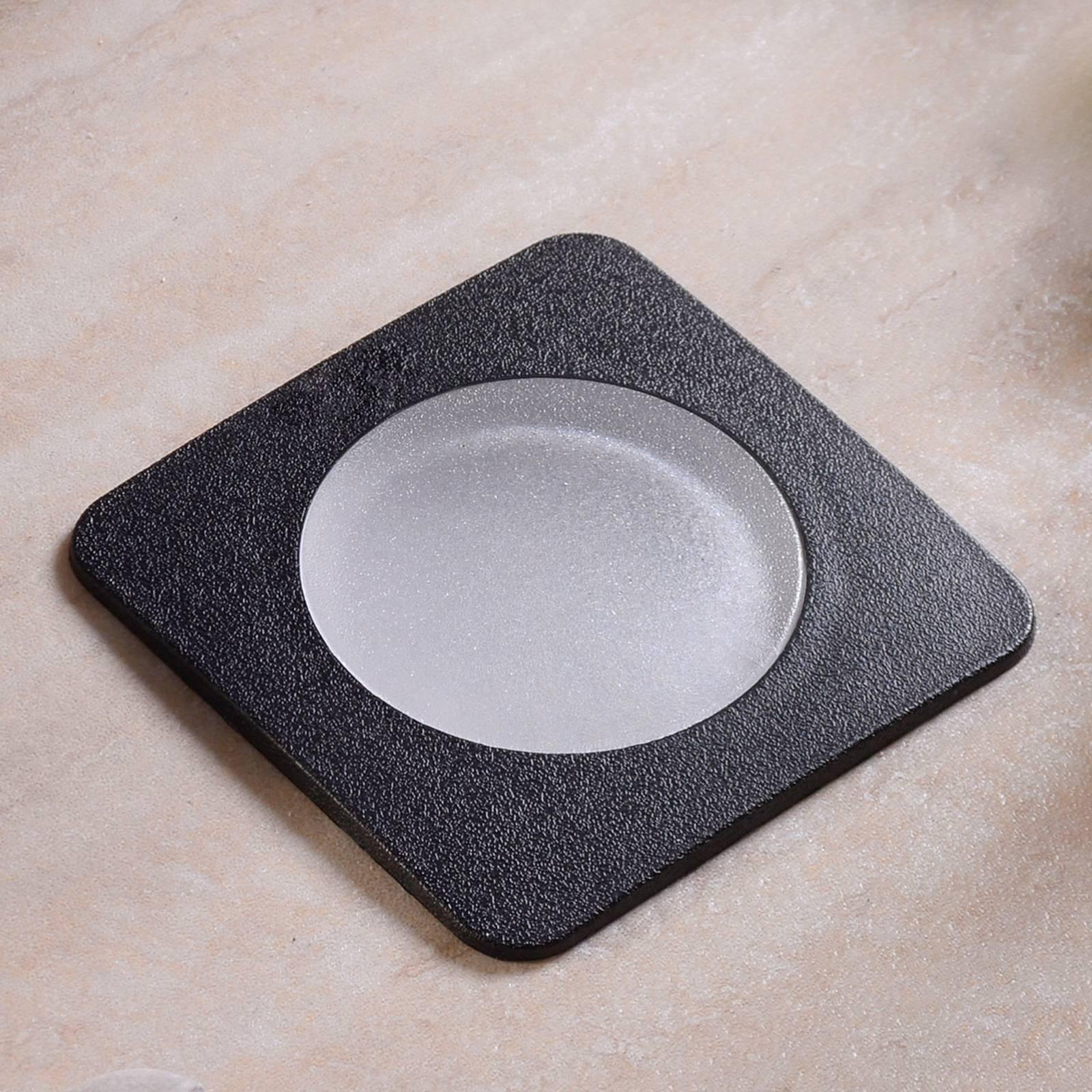 LED-uppovalaisin Ceci 120-SQ musta CCT