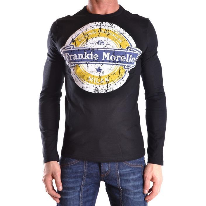 Frankie Morello Men's T-Shirt Black 185929 - black M