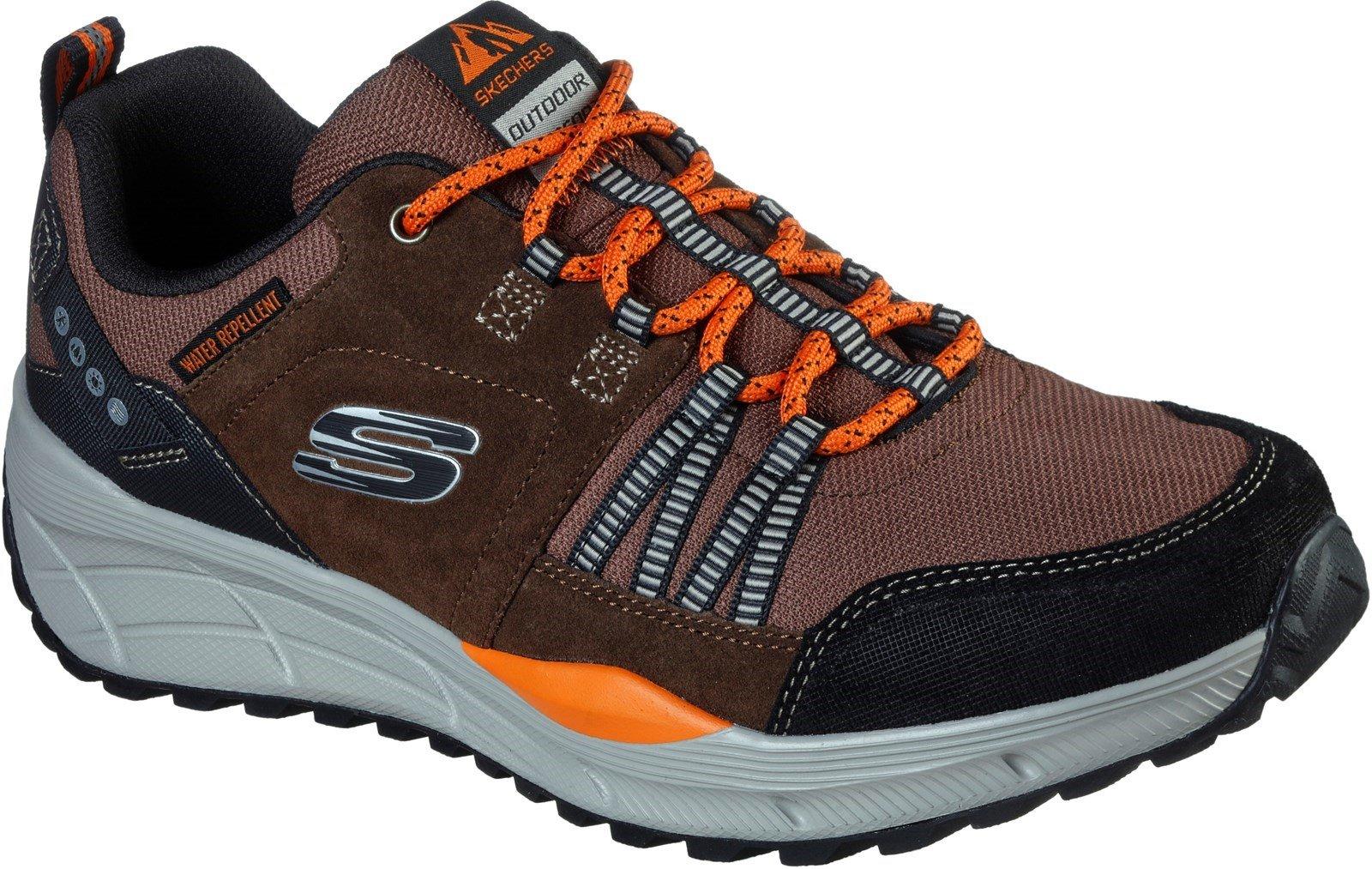 Skechers Men's Equalizer 4.0 Trail Sports Trainer Various Colours 31113 - Brown/Black 12