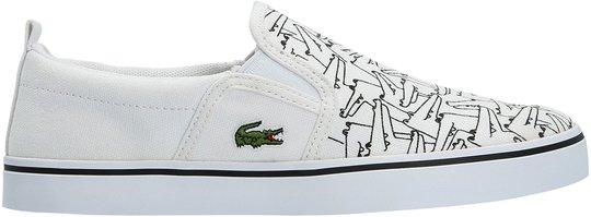 Lacoste Gazon 318 Sneaker, White/Black 28