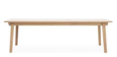 Slice Bord Eik 90x250 cm