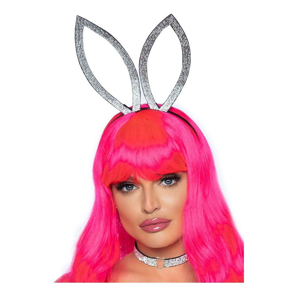 Diadem Bunny med Choker Diamant - One size